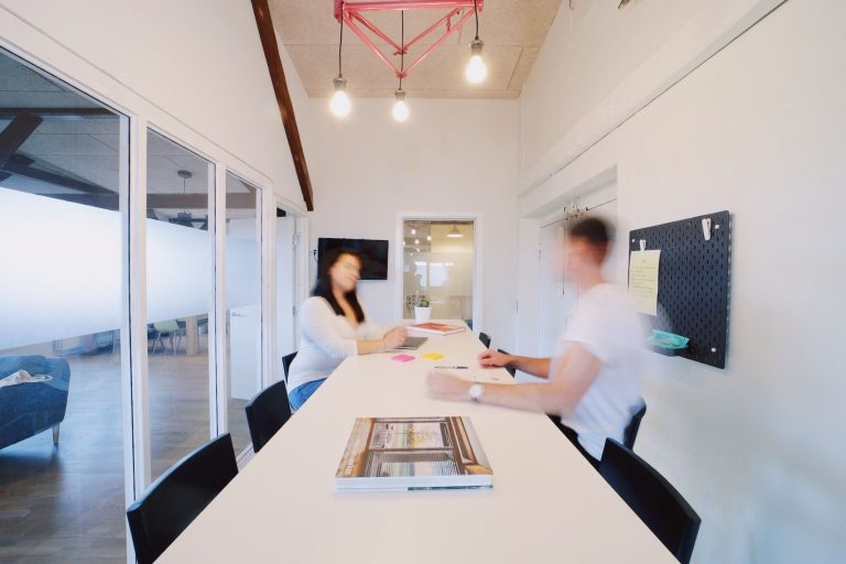 Mødelokale hos Coworking Plus