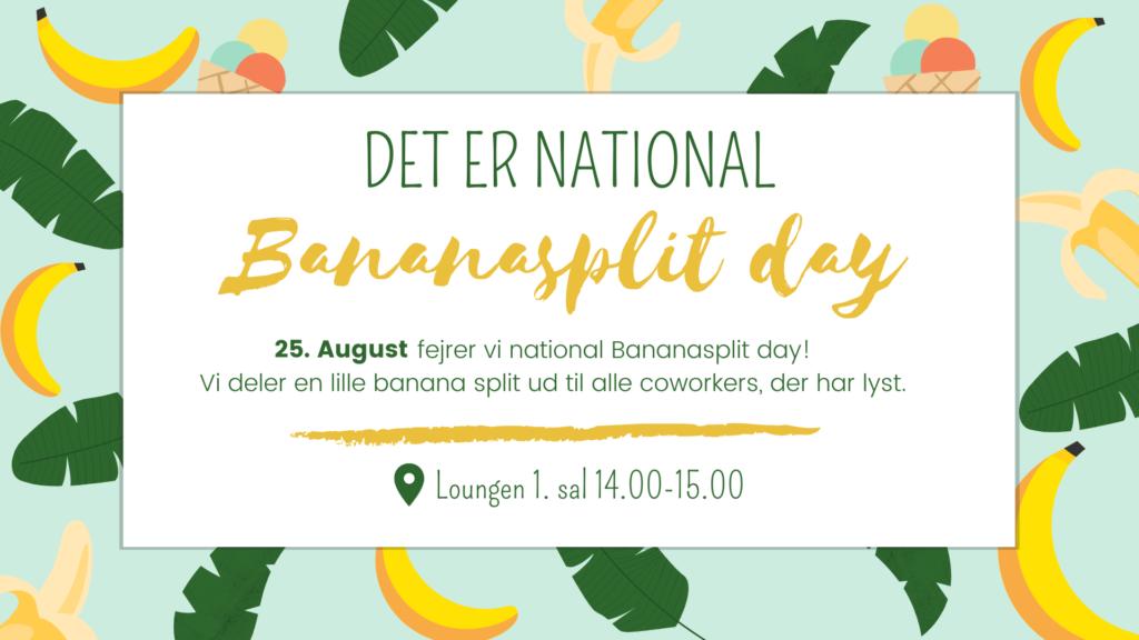 National banana split dag event