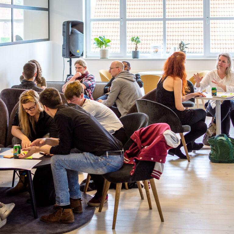 Coworking lounge workshop