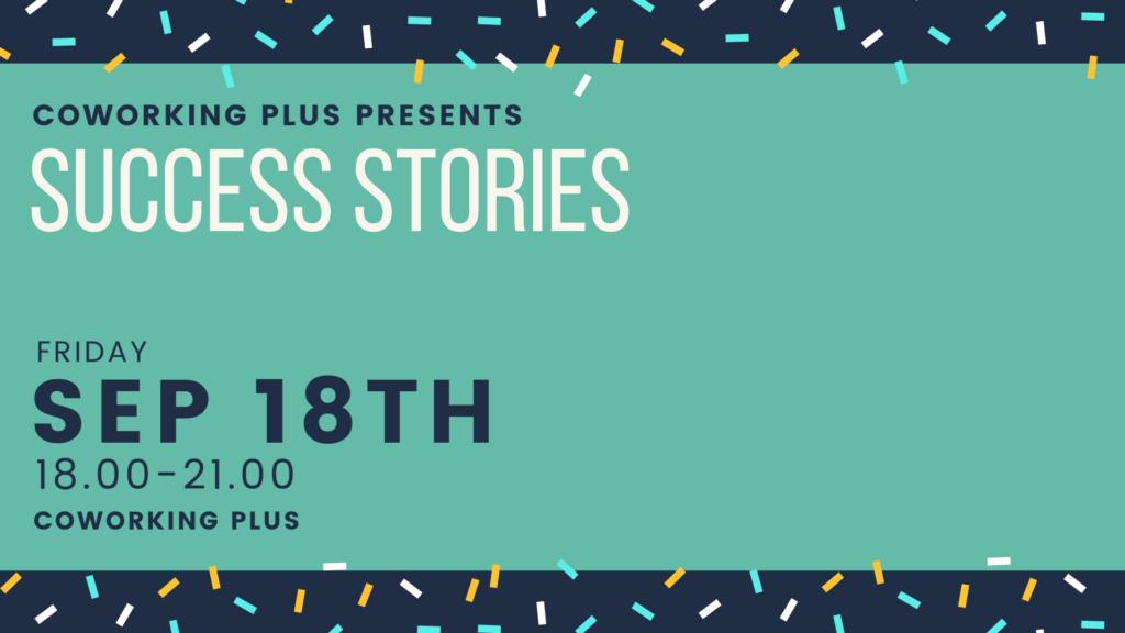 Success Stories event
