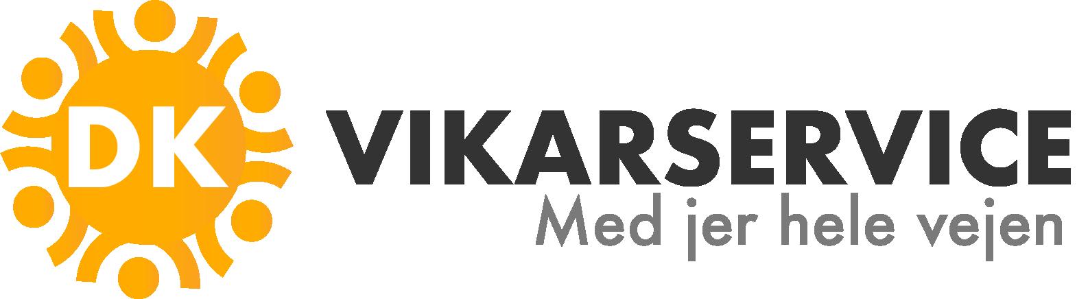 DK vikarservice logo