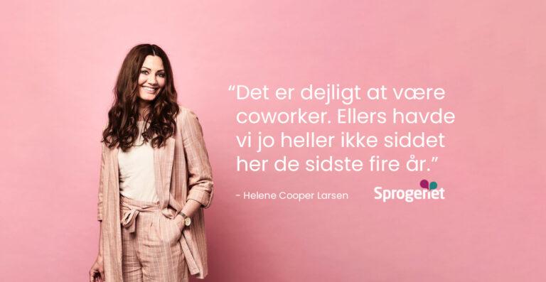 Helene hjemmeside DK 1