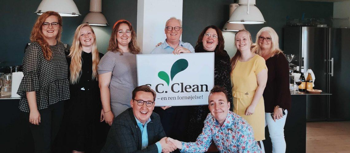 C.C. Clean hos Coworking Plus